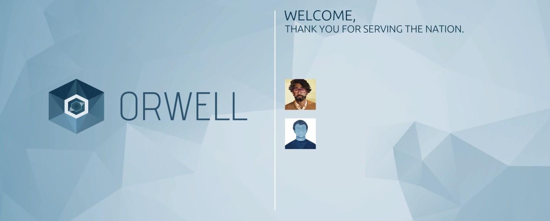 Orwell - Title Screen