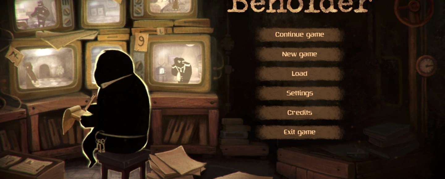Beholder - Title Screen