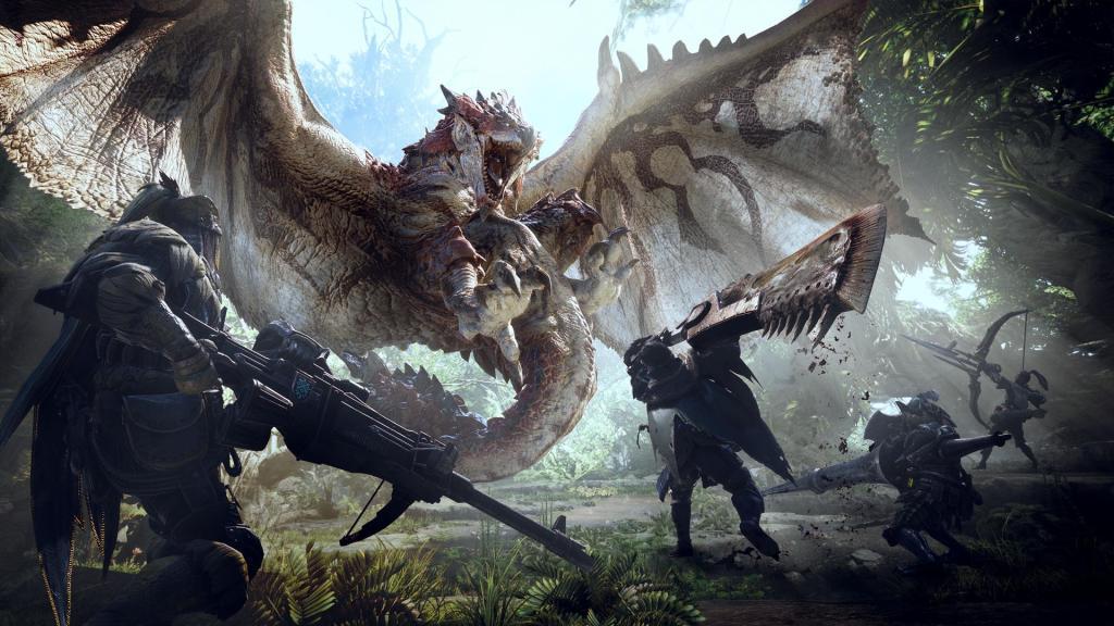 monster hunter world - heavy bowgun