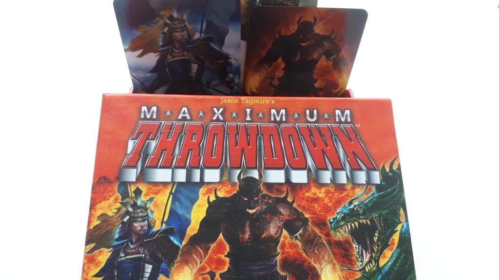maximum throwdown - box