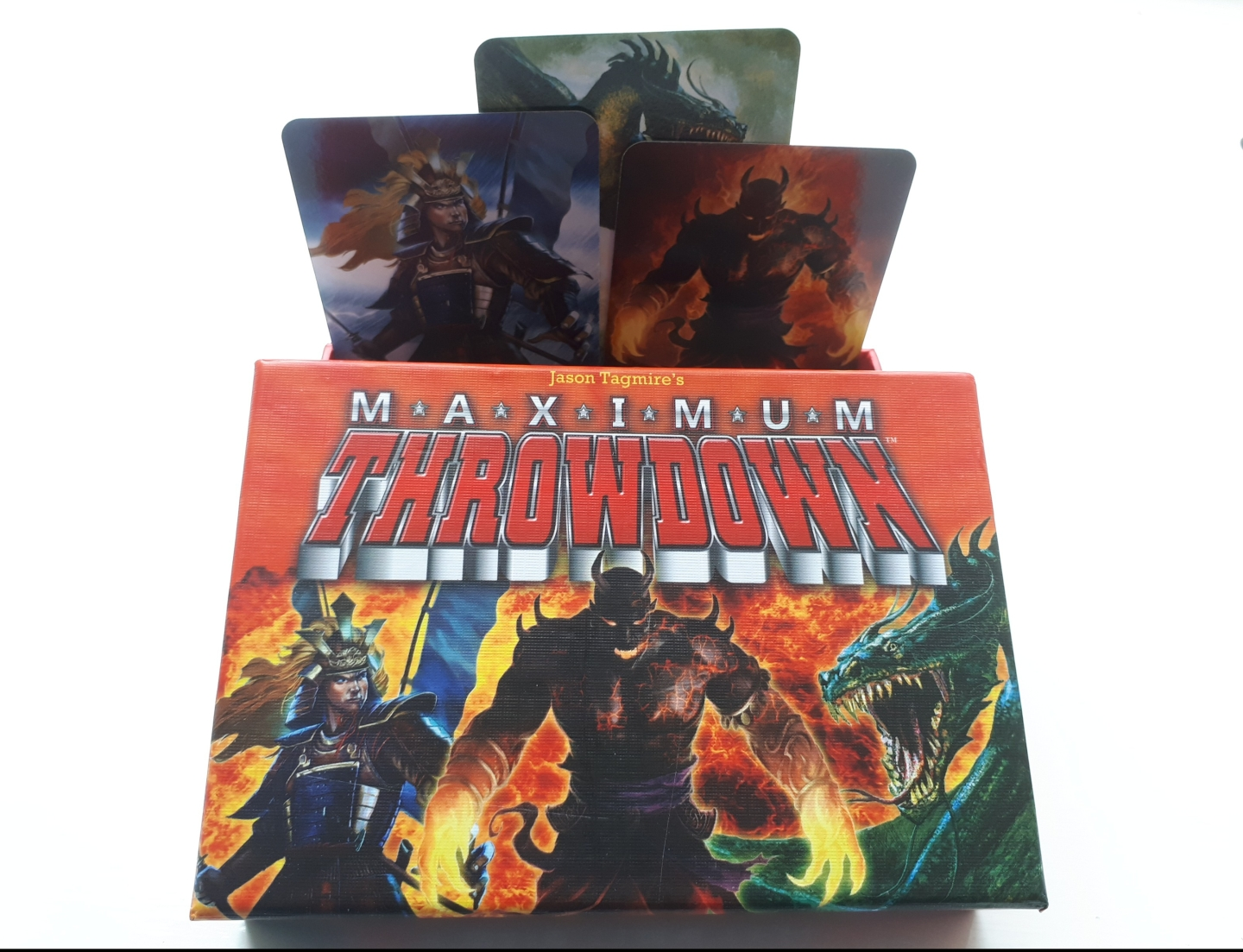 maximum throwdown - box