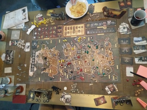 A Game of Thrones Board Game tabletop photo