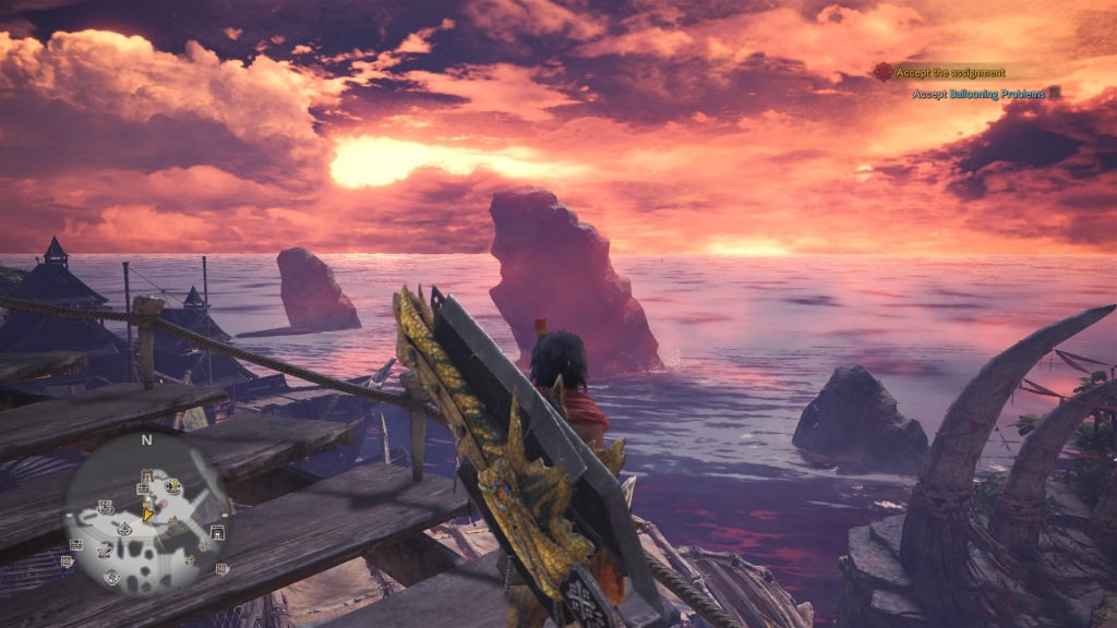 tales from the hunt monster hunter world - switch axe