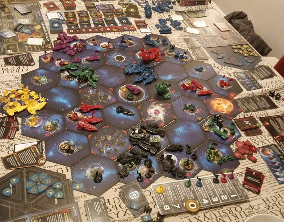 Twilight Imperium 4th Edition Game