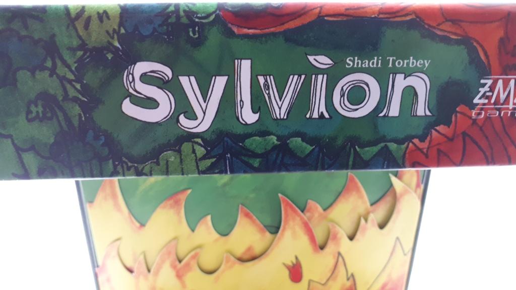 Sylvion board game review - box