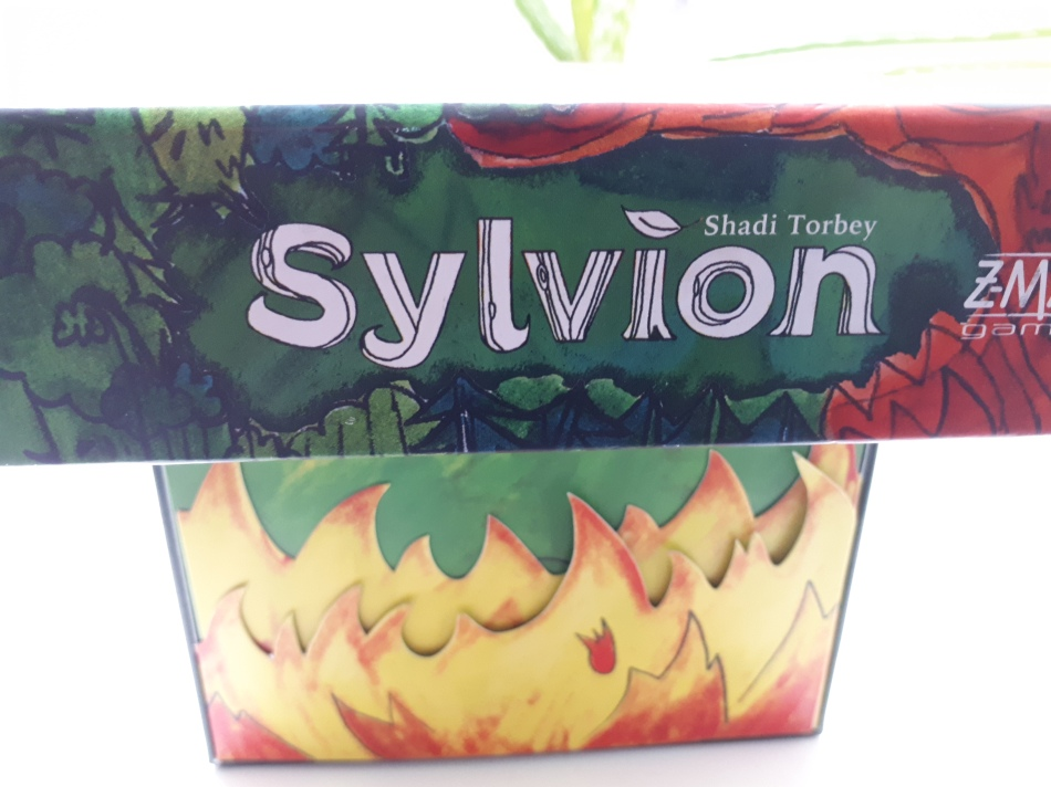 Sylvion board game review - box