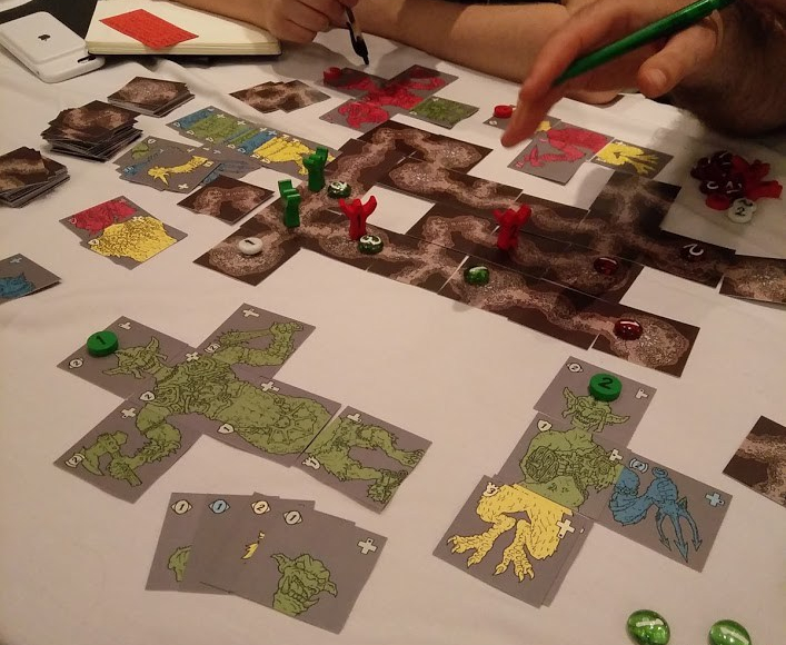 Playtesting at the UKGE