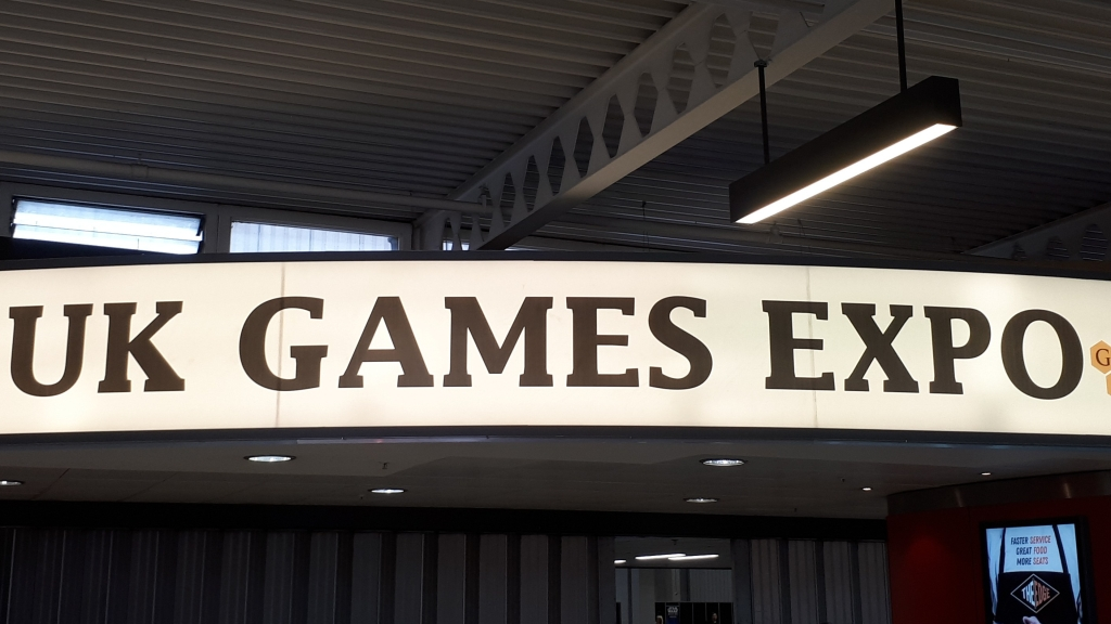 UK Games Expo - sign