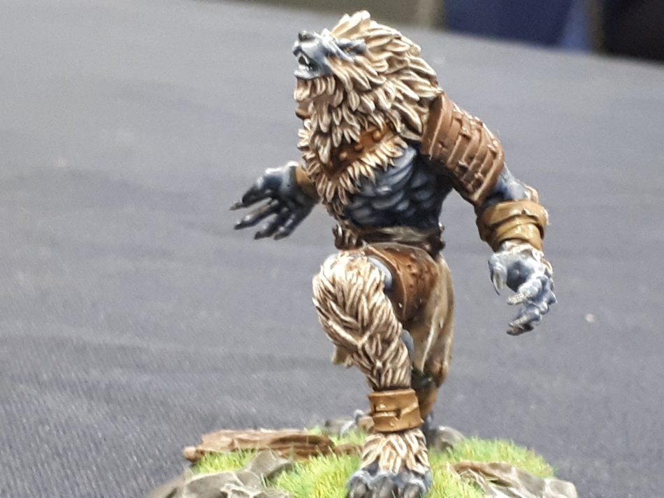 werewolf - miniature