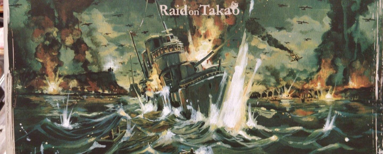Raid on Takao - box