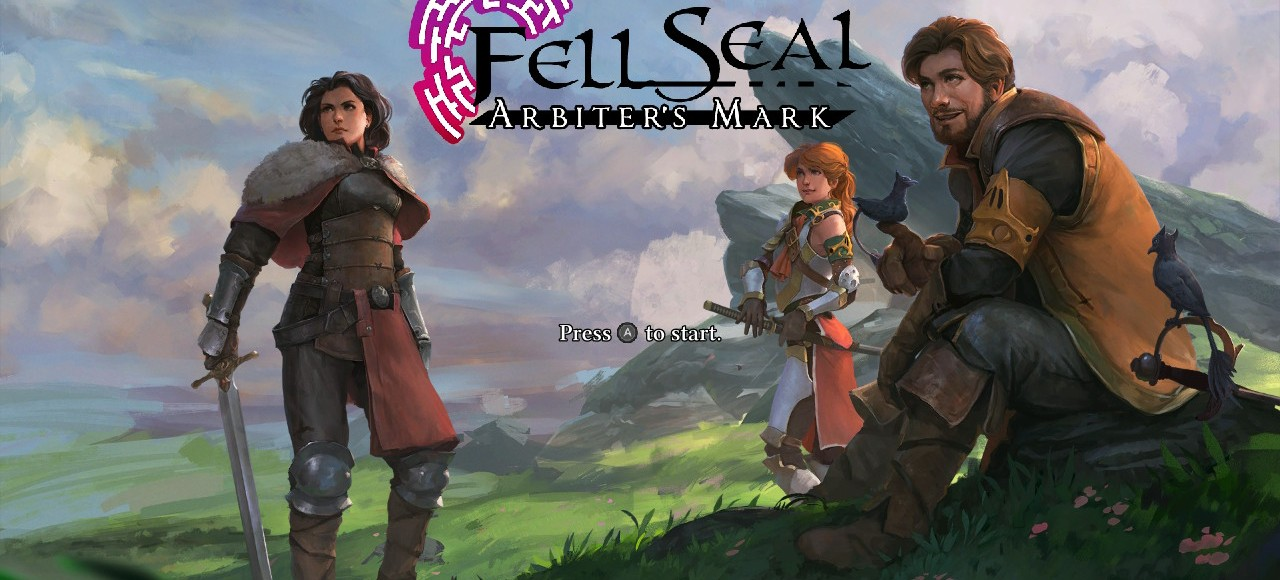 fell seal title screen