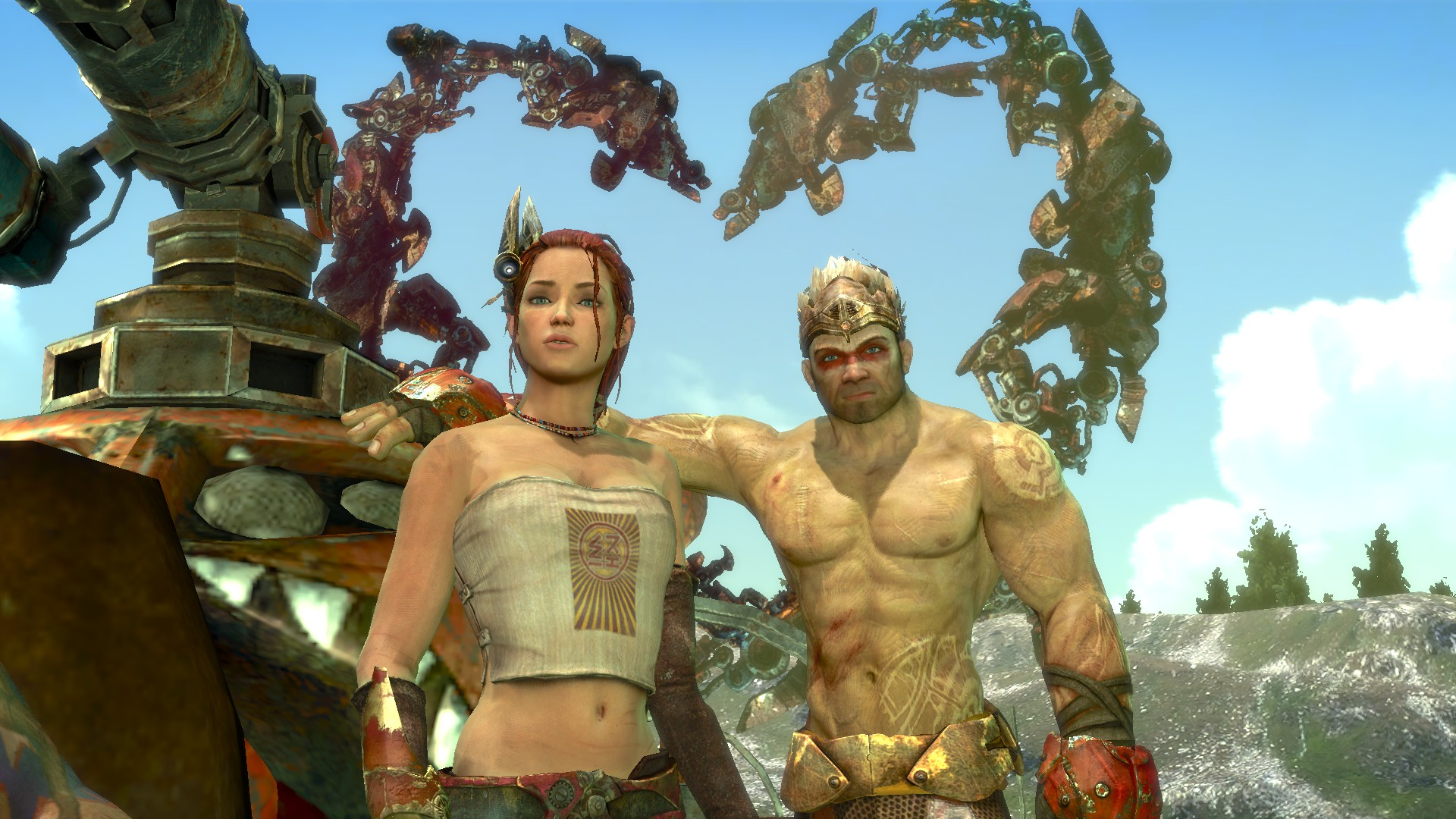 Enslaved Odyssey to the west monkey and trip