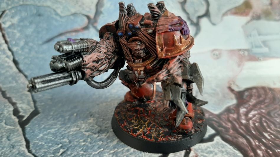 warhammer 40k - world eaters obliterator