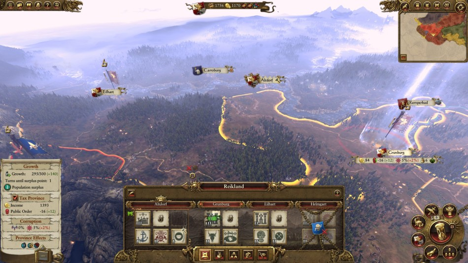Total War Warhammer Map