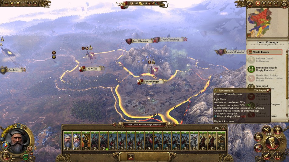 Total War Warhammer Maps