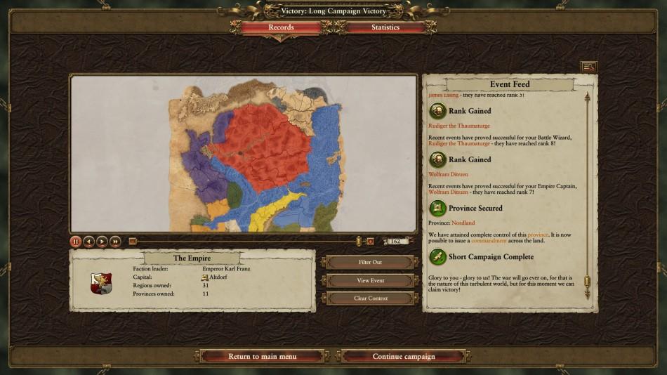 Total War Warhammer Campaign