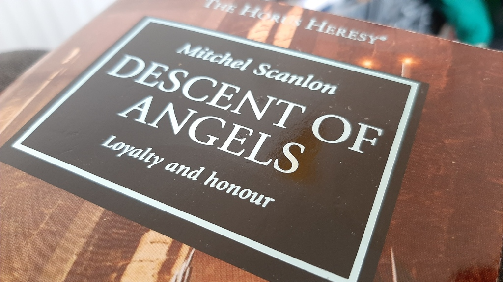 Descent of Angels - Book Cover