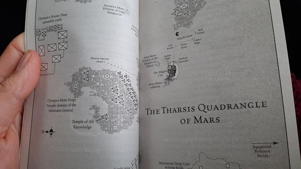 Mechanicum - Warhammer Map