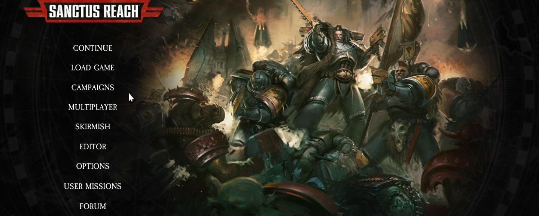 Warhammer 40,000: Sanctus Reach - Video Game
