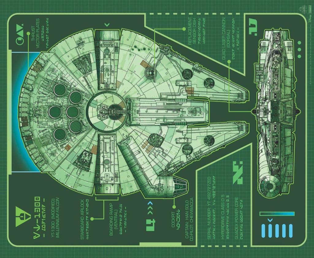 Star Wars Aftermath Life Debt Millenium Falcon