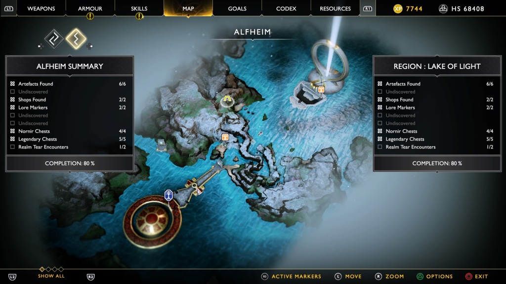 God of War - Alfheim