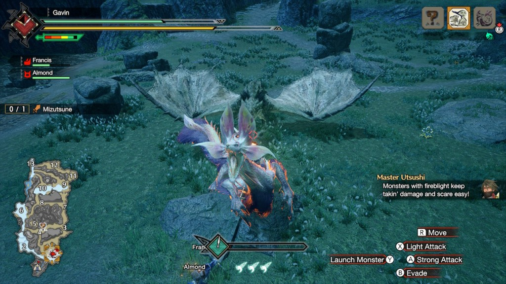 Monster Hunter Rise - Demo - Mizutsune