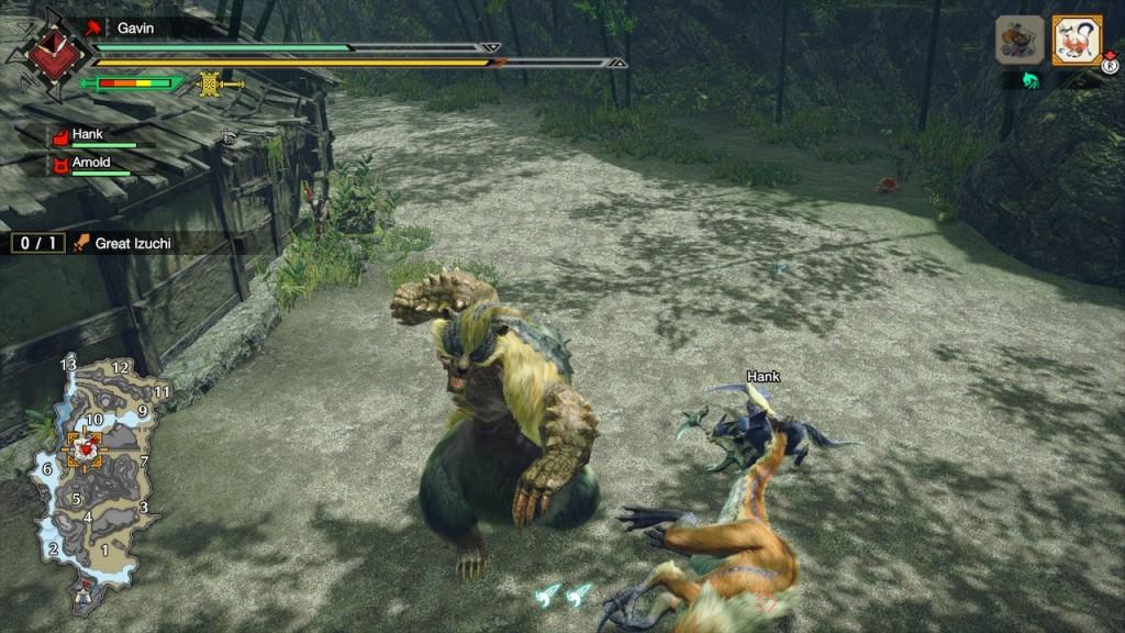 Monster Hunter Rise - Demo - Izuchi