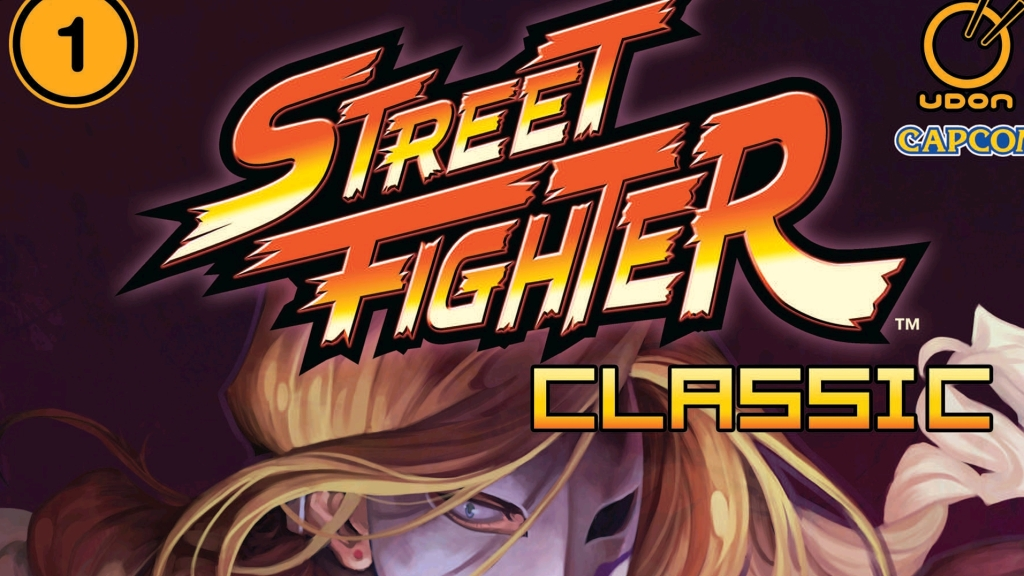 Street Fighter Classic Volume 1 - Cover