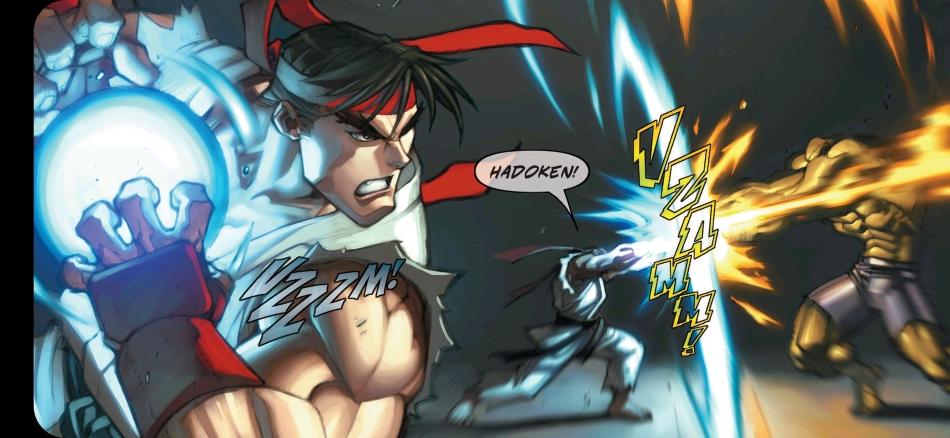 Street Fighter Classic Volume 1 - Hadouken