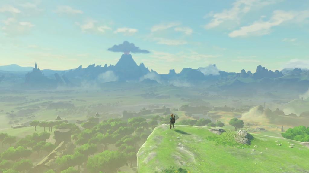 Legend of Zelda: Breath of the Wild vista