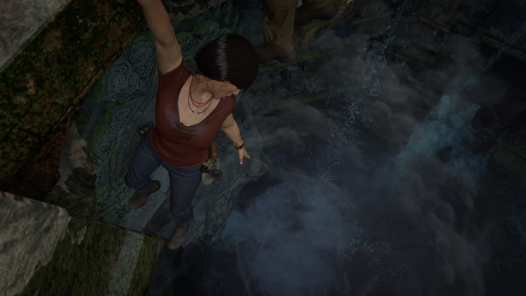Uncharted: The Lost Legacy - Hanging
