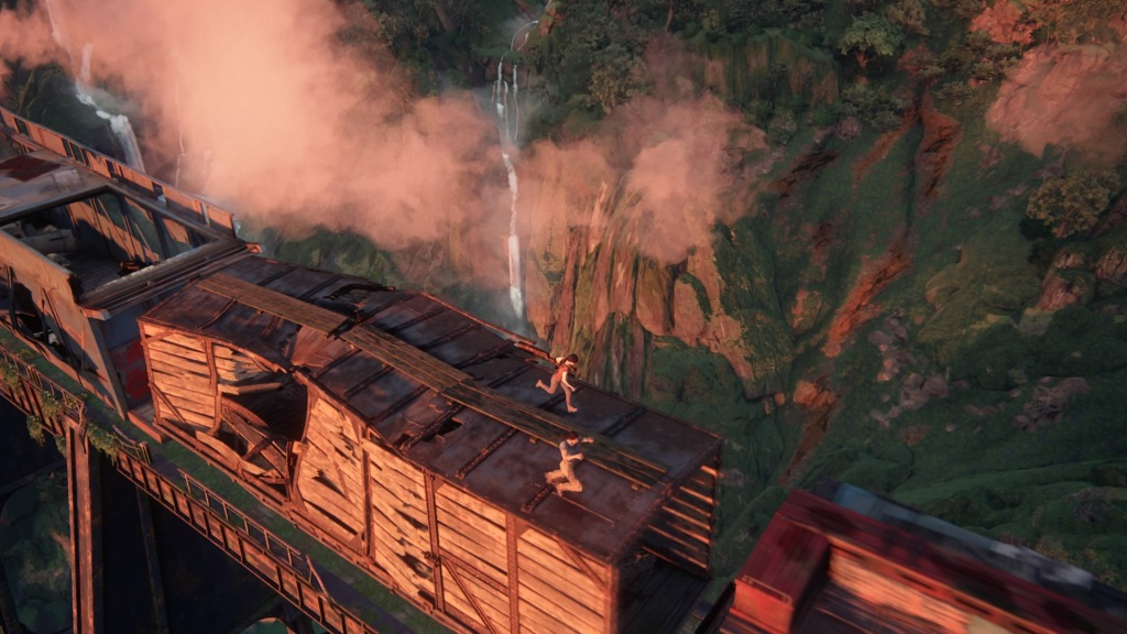 Uncharted: The Lost Legacy - Train