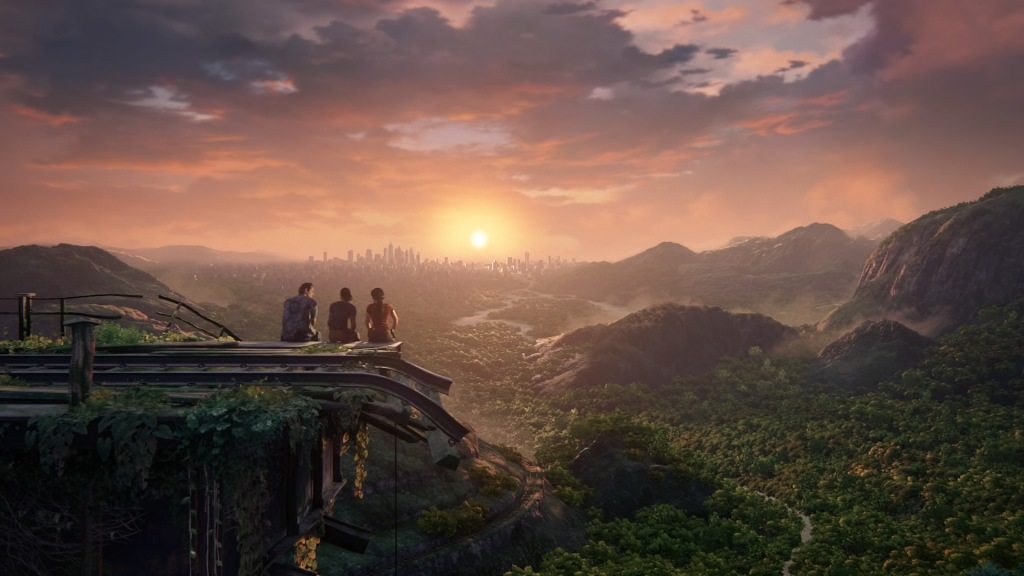 Uncharted: The Lost Legacy - Sun Set
