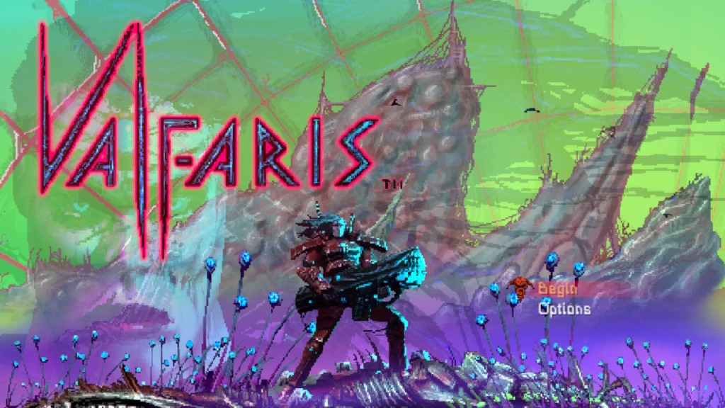 Valfaris Review - Title