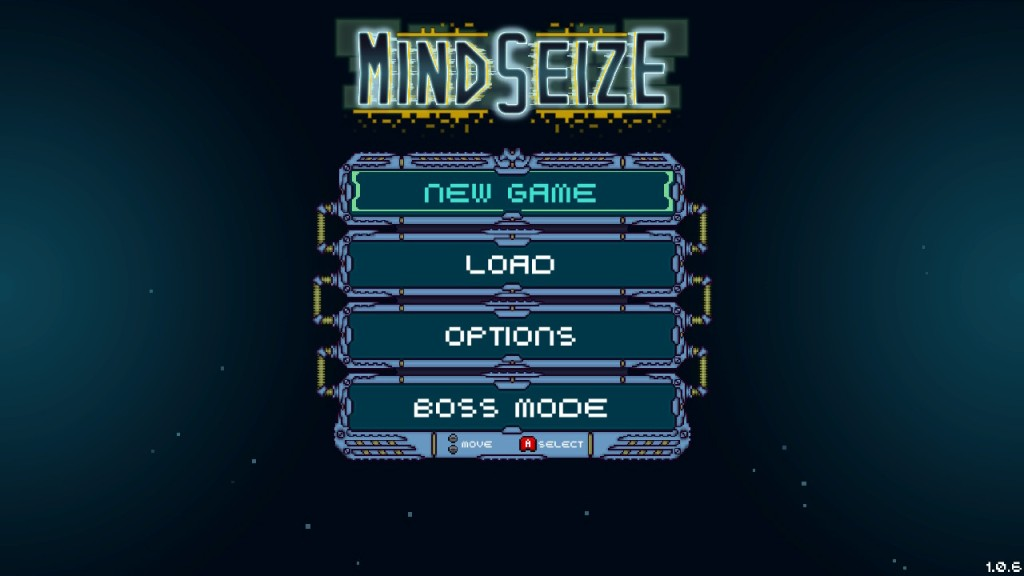 MindSieze Review - Menu