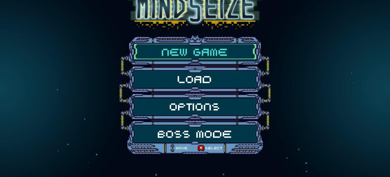 MindSieze Review - Menu